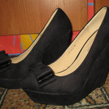 Туфли на платформе р. 39