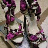 Туфли с открытим носиком,босоножки