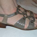 Босоніжки сандалі шкіряні Rieker розмір 39 40, босоножки кожа