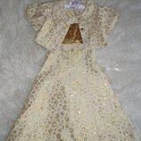 Платье нарядное,комплект для девочки новое р. 30-36