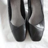 Туфли из натуральной кожи р.40