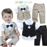 Нарядный костюм 2-ка на мальчика 90-110