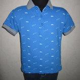На 3-4 года Стильная футболка поло bluezoo от Debenhams мальчику