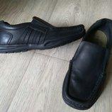 Кожаные туфли George отличное сост, Индия
