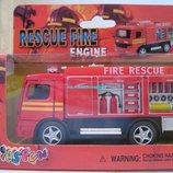 Пожарная машина металл Kinsmart KS5110W