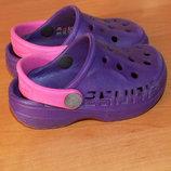 Фирменные кроксы для девочки, размер 22 13 см