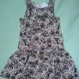 Платье сарафан H&M летнее для девочки 4-6 лет