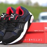 Кроссовки Puma Trinomic black Blue Red