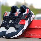 Кроссовки Puma Trinomic gray blue red