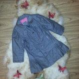Куртка- плащ- пальто Mexx от 2 до 4 лет