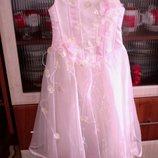 Шикарное платье на выпуской в сад или школу.