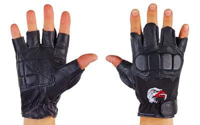 Перчатки спортивные многоцелевые перчатки атлетические BC 169 кожа полиэстер, размер L/XL