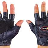 Перчатки спортивные многоцелевые перчатки атлетические BC 121 кожа полиэстер, размер S/M/L
