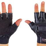 Перчатки спортивные многоцелевые перчатки атлетические BC 122 кожа полиэстер, размер S/M/L