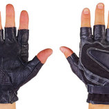 Перчатки спортивные многоцелевые перчатки атлетические BC 161 кожа полиэстер, размер L/XL