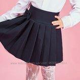 Школьная юбка, для девочки. Размер 146