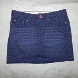 юбка джинсовая стильная модная р6