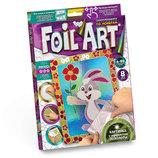 Аппликация Цветной Фольгой 10 рисунков По Номерам «FOIL ART»
