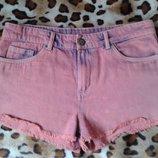 Denim co отличные фирменные джинсовые шорты на лето 44-46р
