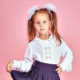 Школьная блузка для девочки. 122. 128. 134. 140. 146 размер