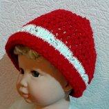 Красная шапочка вязанная