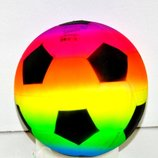 Мяч пвх жолт 22см 200грм A5340
