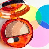 Тройные тени Collistar Transparency Silk Effect Eye Shadow тон 71 Arancio Charles Ghost