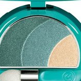 Тройные тени Collistar Transparency Silk Effect Eye Shadow тон 72 Green Fley