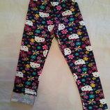 Стильные,модные,яркие лосины для девочки 3-8 лет. на флисе