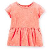 Нарядная блузка-футболка carters 2t