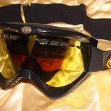 мотоочки маска для мотокросса Dragon Vendetta оригинал идеал