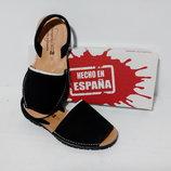 Менорки з Нобука, мягкая кожаная обувь для прогулок, пляжная обувь. Испания