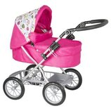 Mamas&Papas Коляска для куклы пупса Giovarni Dolls Pram Pink Petal Foldable Stroller Pushchair Dolls