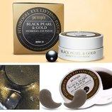 Патчи гидрогелевые для кожи вокруг глаз Black pearl & Gold hydrogel eye patch 60 штук, косметика