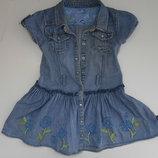 Платье джинсовое на 3 года