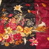 платок шелк Франция принт Роскошный 84Х87 см идеал