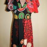Дизайнерское платье от Desigual разм. М. Made in India