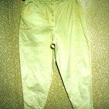 р.52-54 UNO MOMENTO , вышивка, секси, кремовые джинсы лето , женские