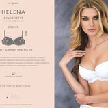 Бюстгальтер Kleo клео Helena хелена balconette p-up molded cup bra модель 210.01 ML