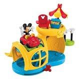 Fisher-Price Набор Микки Маус с домом и машинкой гараж Mickey Mouse Clubhouse Fix 'n Fun Garage BJP1