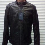 Мужская демисезонная куртка.Кожзам последний размер 54