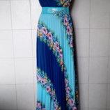 Красивенное,нарядное,яркое,эффектное платье-макси Beyzas,Турция,на р-ры M/L