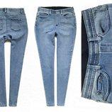 Суперстрейчевые моделирующие джинсы с высокой посадкой