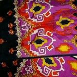 Яркий,модный шарф от Trevira