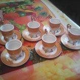 Кофейный сервиз Peach - Japan -12 предметов