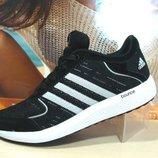 кроссовки женские adidas bounce черный 36р-41р