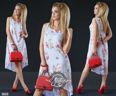 fda33790e6f2d6d Легкое шифоновое платье с розами. Размеры S-L, 48-50.: 487 грн ...