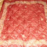 платок Michel Paris оригинал шелк принт Изысканный 85Х88 см идеал