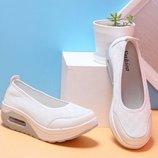 балетки женские летние Хит сникерсы танкетке туфли