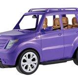 Barbie Автомобиль внедорожник Барби для 4-х кукол Glam Suv Vehicle DVX58